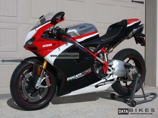 2010 Ducati  1198S Corse Motorcycle Super Moto photo