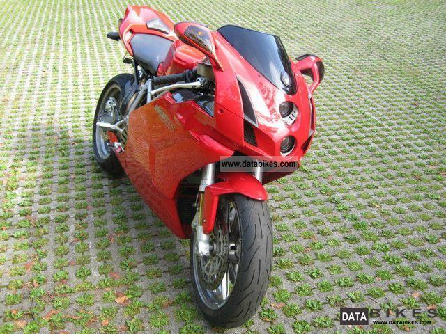 2004 Ducati  Strada 999 Monoposto Testastretta MOTOR + Carbon Motorcycle Sports/Super Sports Bike photo