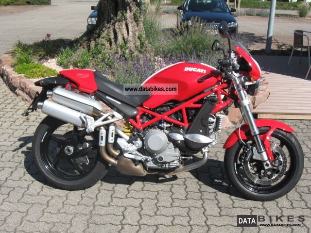 2008 Ducati  Monster S2R 1000 compressor, shipping bundesw. € 99 Motorcycle Naked Bike photo
