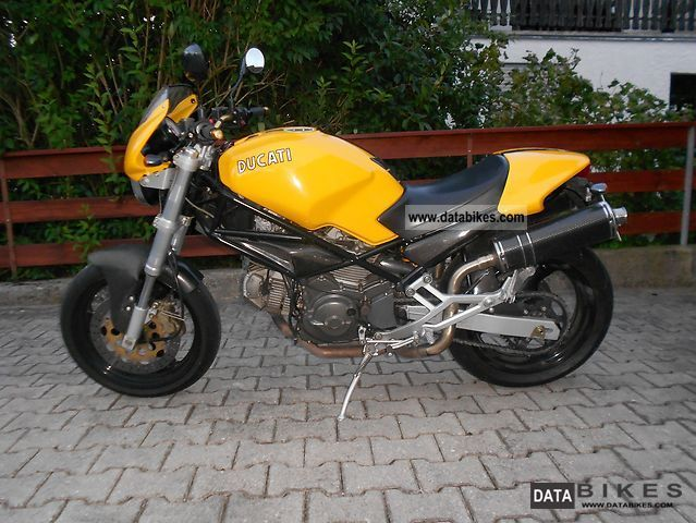 Ducati  600 Monster and many Rizoma carbon fiber parts 1999 Naked Bike photo