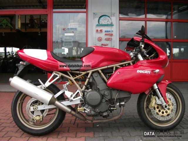 2001 Ducati  Supersport 750i.e. Motorcycle Sports/Super Sports Bike photo