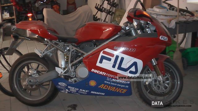 2004 Ducati  999 Fila-optics Motorcycle Sports/Super Sports Bike photo