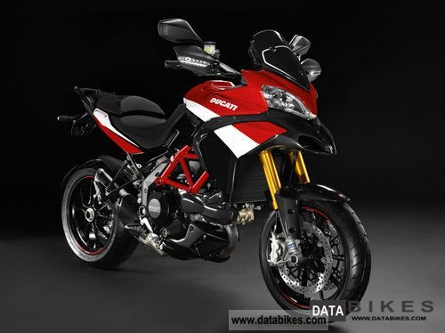 2011 Ducati  Multistrada 1200 S Pikes Peak - 1.Hd. - Like new! Motorcycle Enduro/Touring Enduro photo