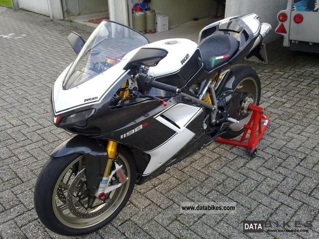 2010 Ducati  1198S Carbon Edition (1 hp per kg) Motorcycle Sports/Super Sports Bike photo