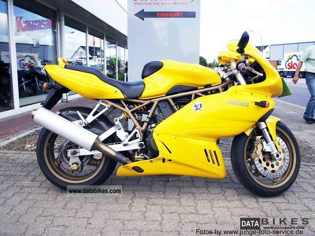 1998 Ducati  Super Sport 900 Motorcycle Sports/Super Sports Bike photo