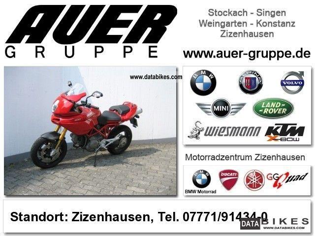 2008 Ducati  MTS Multistrada 1100 S Motorcycle Sports/Super Sports Bike photo