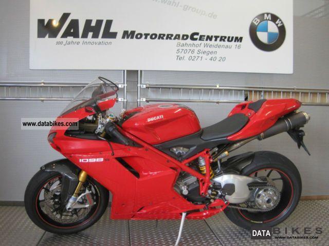 2008 Ducati  1098 - 1 Hand Motorcycle Sports/Super Sports Bike photo