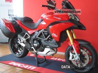 2010 Ducati  Multistrada 1200 S TOURING ABS Motorcycle Enduro/Touring Enduro photo