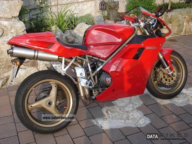 1998 Ducati  916 Biposto Special Edition (996.998) Motorcycle Racing photo