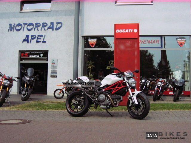 2011 Ducati  Monster 796 white-ducatileasing.com Motorcycle Naked Bike photo