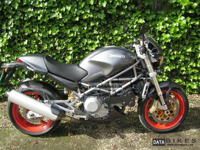 2002 ducati monster s4 senna special edition like new. Black Bedroom Furniture Sets. Home Design Ideas