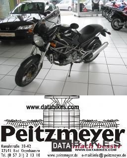 2002 Ducati  MONSTER 900 S4 900, Carbon Motorcycle Motorcycle photo
