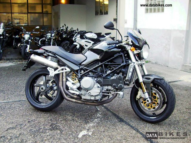 Ducati  Monster S4R first HD. 2005 Tourer photo