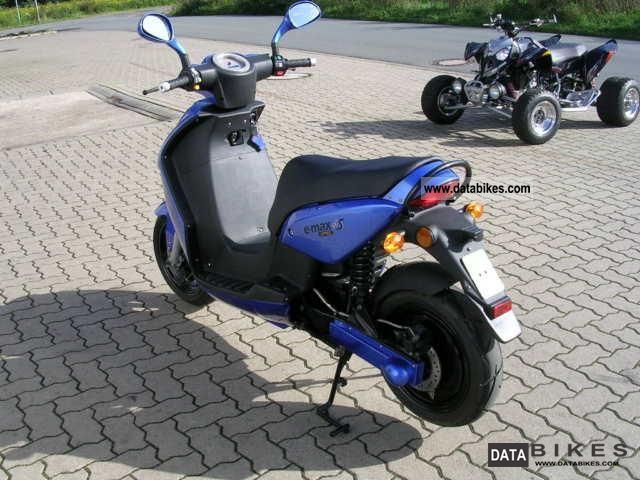 e-max  90 S 2009 Electric Motorcycles photo