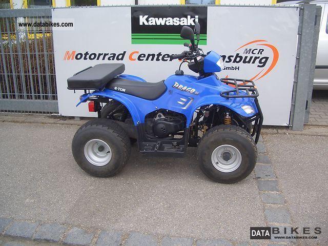 2005 E-Ton  Draco 50 Motorcycle Quad photo