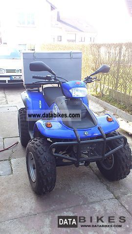 2008 E-Ton  EXL 150 Yukon Motorcycle Quad photo