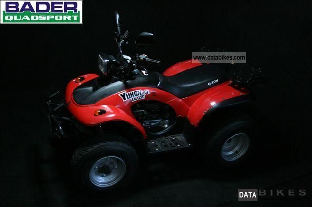 2005 E-Ton  YUKON EXL 150 * SECURED AREA FOOT + PLENTY OF SPACE * Motorcycle Quad photo