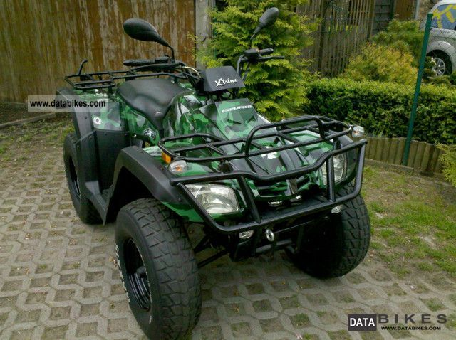 2007 Explorer  Ranger 4x4 evo camouflage Motorcycle Quad photo