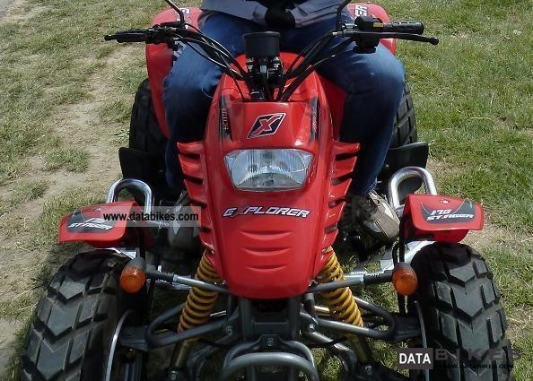 2004 Explorer  Stinger 170 Motorcycle Quad photo