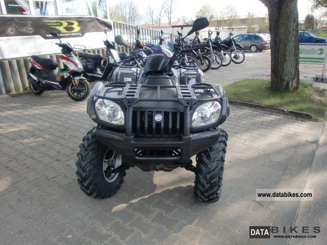 2012 Explorer  ATLAS 500 4x2 Motorcycle Quad photo