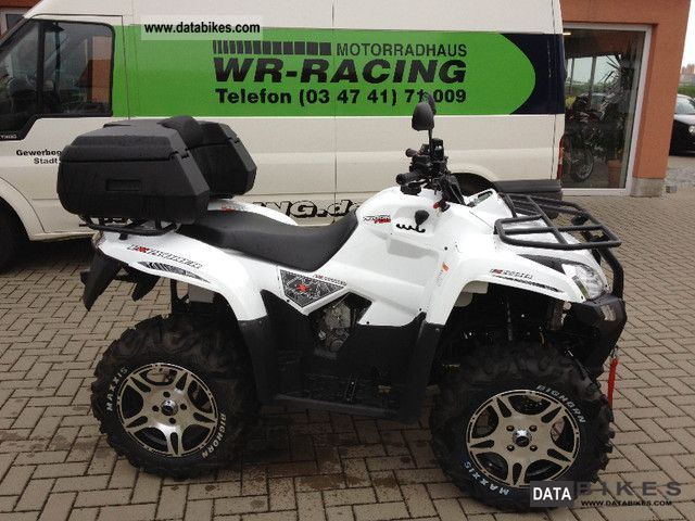 2011 Explorer  Argon 700 4x4 Motorcycle Quad photo