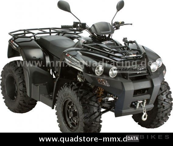 2011 Explorer  Argon 330 Motorcycle Quad photo