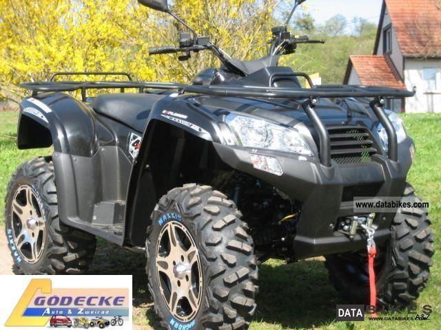 2011 Explorer  Argon 700 4x4 deluxe Motorcycle Quad photo