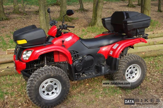 Explorer  CF Moto 500 long-wheelbase 4x4 Atlas Tüv NEW 2007 Quad photo