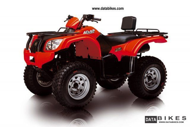 2011 Explorer  Atlas Edition 500 4x4 Motorcycle Quad photo