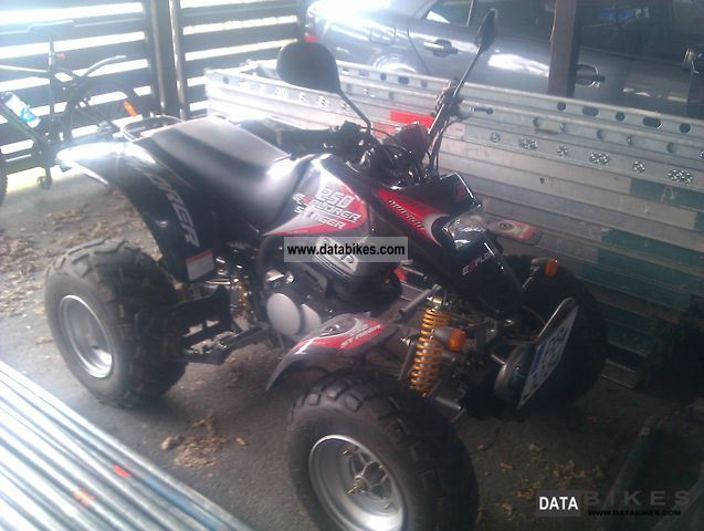 2008 Explorer  Stinger 250cc Motorcycle Quad photo