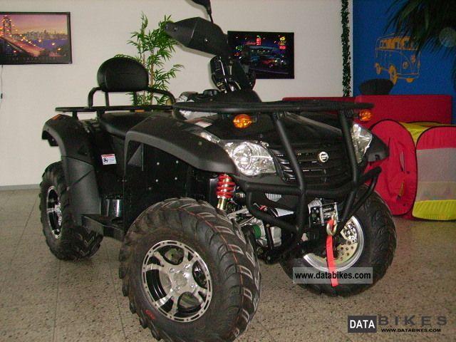 2011 Explorer  Grison 625 4x4 LOF Perm. & Warranty! Motorcycle Quad photo