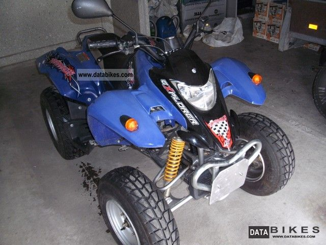 2005 Explorer  Tomahawk 250 Motorcycle Quad photo