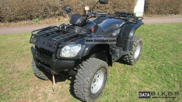 2008 Explorer  Atlas ATV 500cc 4x4, LOF Zugm. Motorcycle Quad photo