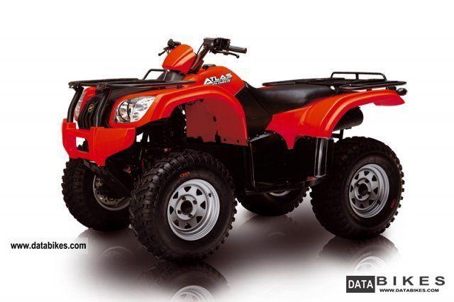 2011 Explorer  Atlas 500 Compact 2x4, snow plow Motorcycle Quad photo