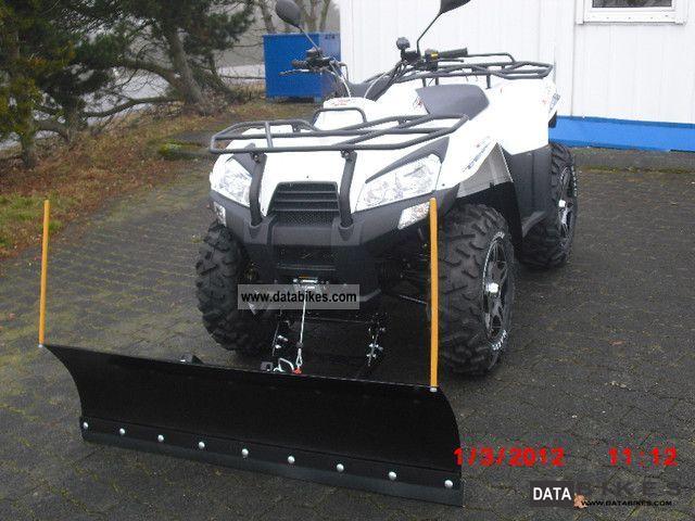 Explorer  Argon 700 4x4 with snow plow LOF 2012 Quad photo