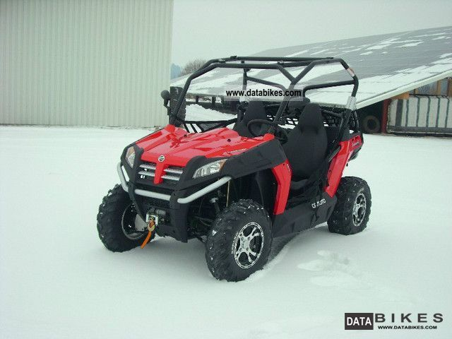 2011 Explorer  Terra Cross 625 LOF / Bazooka Motorcycle Quad photo