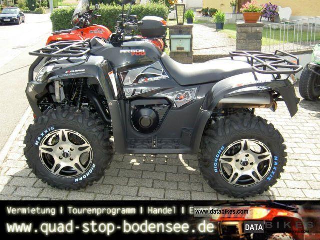 2011 Explorer  Argon 700 4x4 Deluxe LOF Motorcycle Quad photo