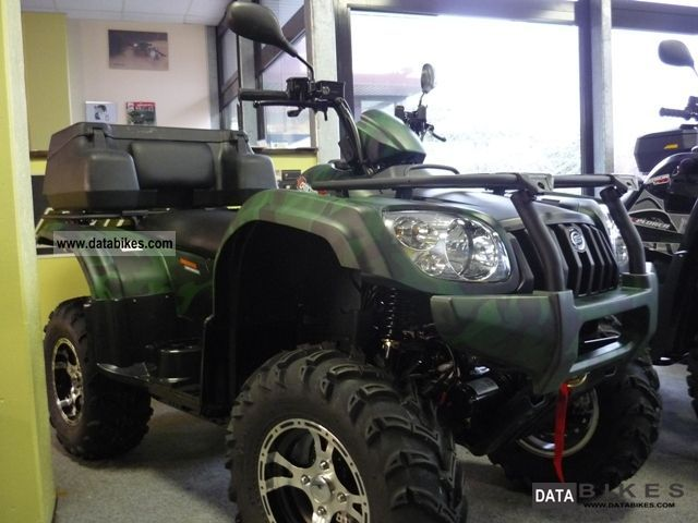Explorer  Atlas 500 4x4 ** ** LOF 2011 Quad photo