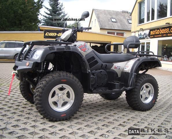 2011 Explorer  Atlas LOF 500 4x4, winch and snow plow Motorcycle Quad photo