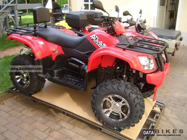 2011 Explorer  Atlas 500 incl winch and snow plow Motorcycle Quad photo