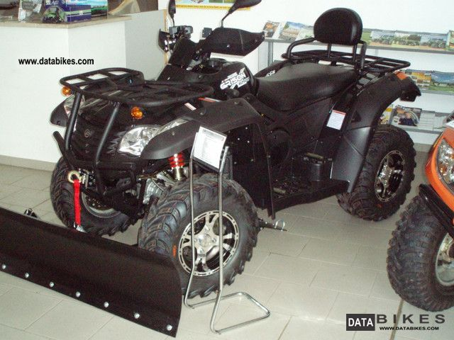 2011 Explorer  Grison 625 LOF with auxiliary lights Motorcycle Quad photo