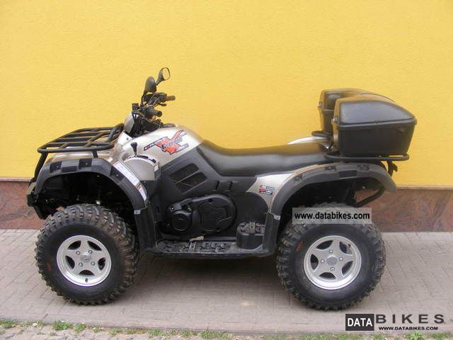 2011 Explorer  Quad / ATV 500 4x4 Everest LOF m.Alufelgen Motorcycle Quad photo