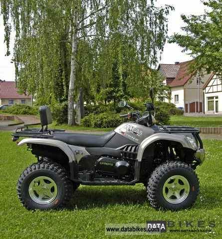2011 Explorer  Atlas Quad 500 4x4 CF Moto m. LOF Perm. Motorcycle Quad photo