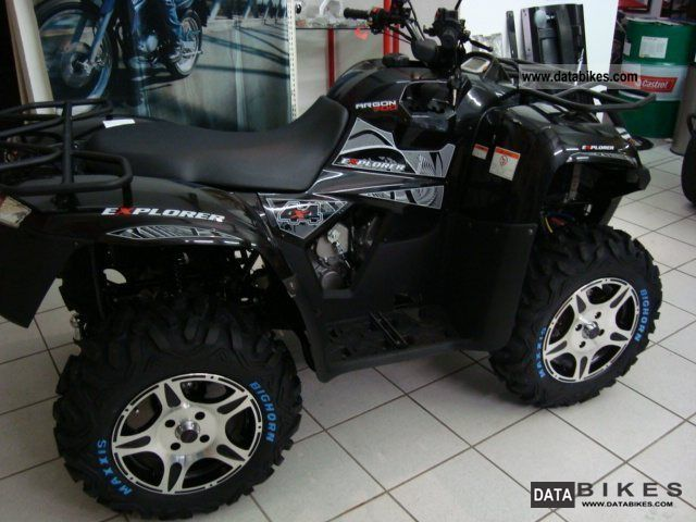 2011 Explorer  Argon Motorcycle Quad photo