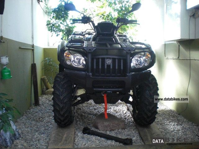 2011 Explorer  Atlas 500 4x4 LOF Motorcycle Quad photo