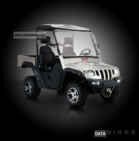 2011 Explorer  Rancher 525 4x4 tipping bed ***! *** Motorcycle Quad photo