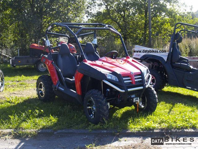 2011 Explorer  Terra Cross 625 EFI Motorcycle Quad photo