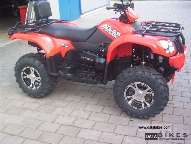 2011 Explorer  Atlas 500 4x4 with winch Black Lof approval Motorcycle Quad photo