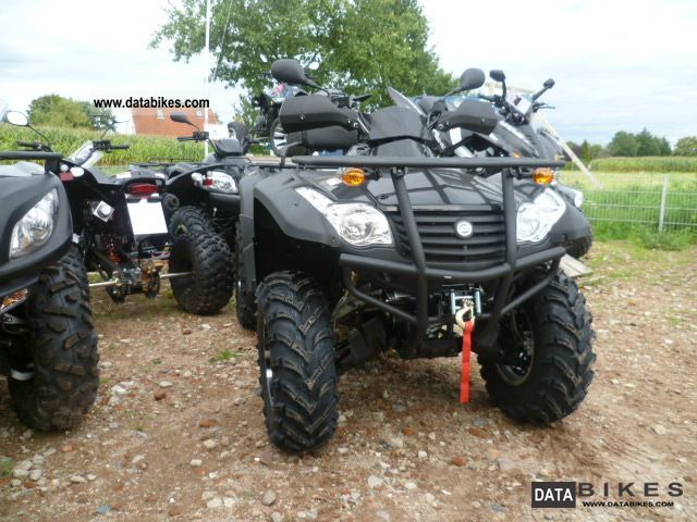 Explorer  625 EFI 4x4 Grisson LOF Edition 2011 Quad photo