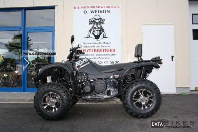 2011 Explorer  CF Moto 500 4x4 Motorcycle Quad photo